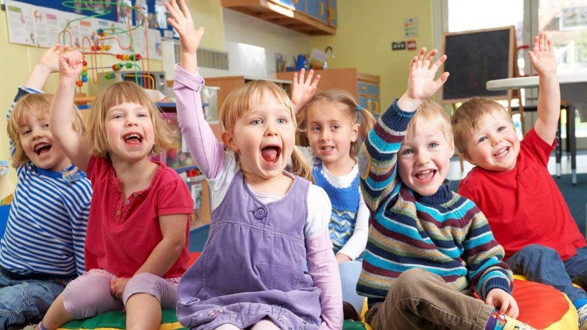 Более 40 % детей в Украине не могут посещать детские сады, – Новосад