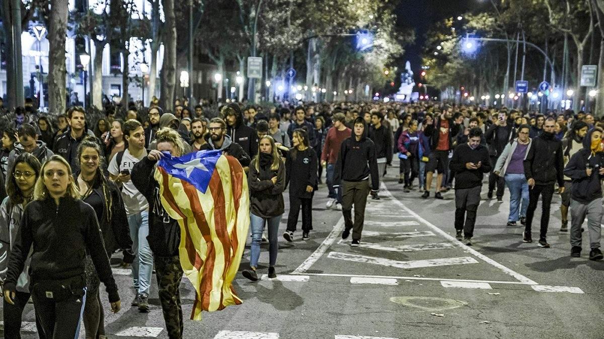 В Каталонии протесты продолжаются