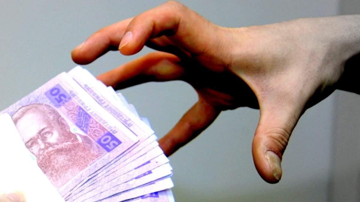 Викладач, який попався на хабарі в 4 тисячі гривень, відбувся штрафом