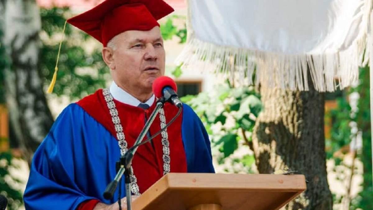 Ректор Острожской академии Игорь Пасечник