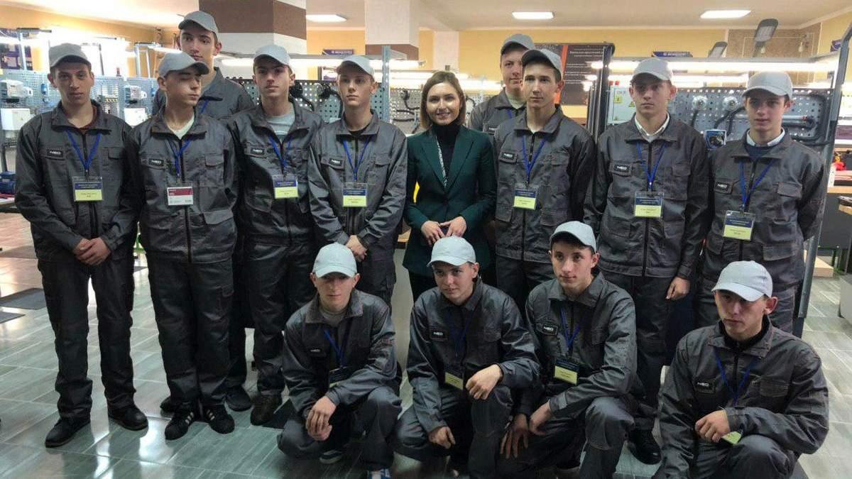 Новосад приехала на Закарпатье в рамках рабочей поездки
