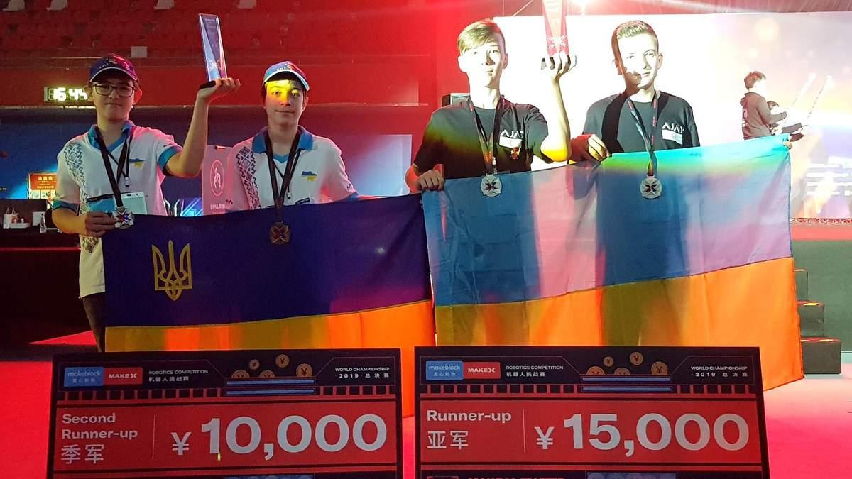 Мама-тренер та робот Валєра: українські школярі вибороли медалі на змаганнях з робототехніки