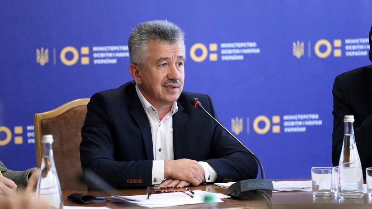 Коржевский отвечает за профессиональное образование в министерстве