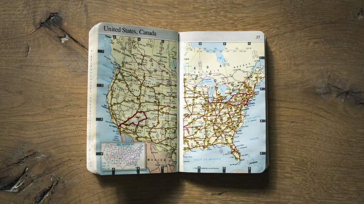 В підручнику з географії з'явилась карта з культової гри Skyrim
