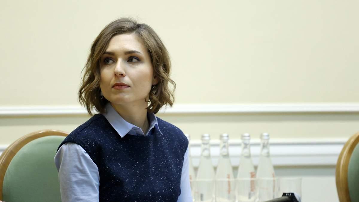 Анна Новосад и Вадим Пристайко встретились с Петером Сийярто