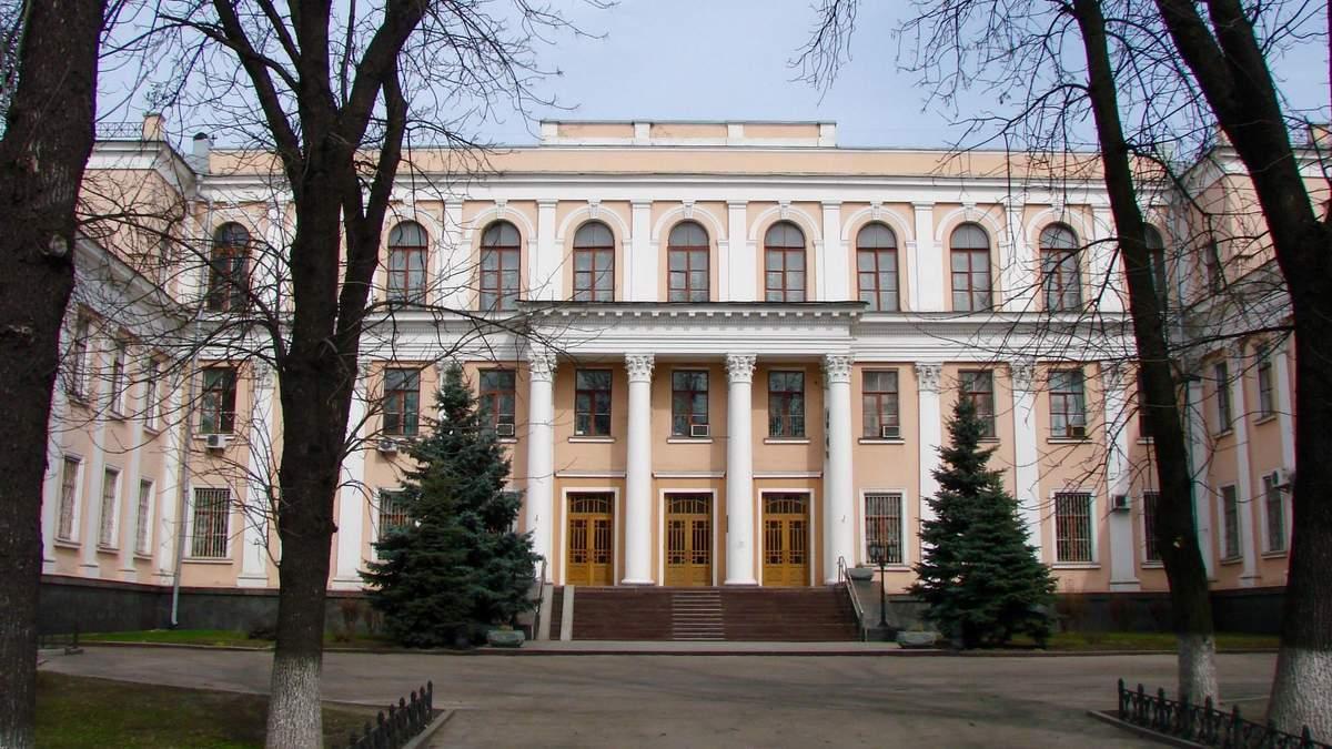 Здание министерства образования и науки Украины