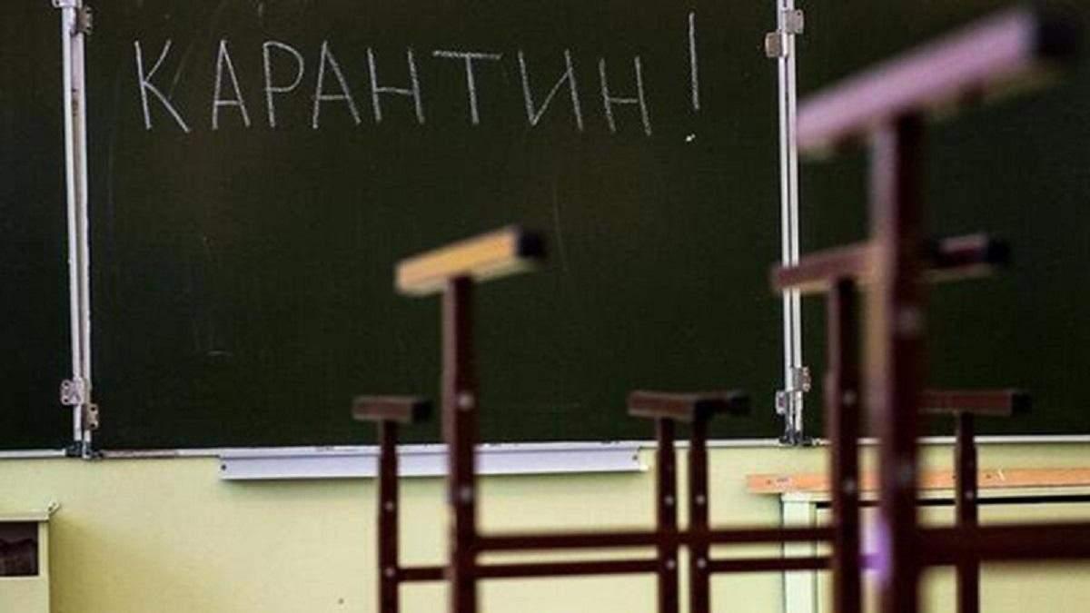 У всіх навчальних закладах України введений карантин