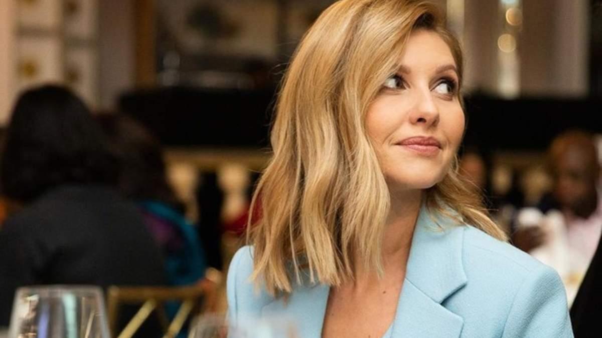 Елена Зеленская снялась в съемках телеурока для 5 класса