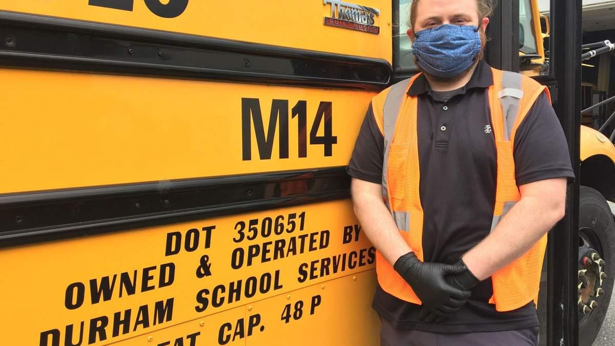 Ученики вдохновили водителя школьного автобуса стать учителем