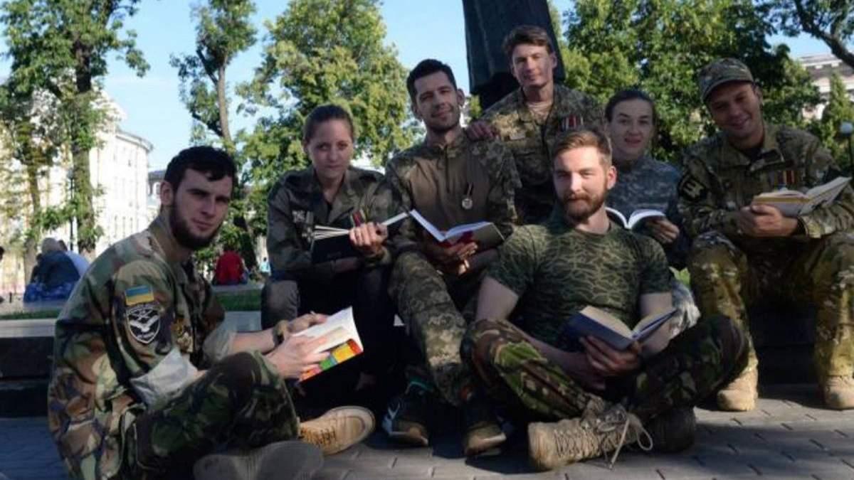 Ветераны в Могилянке