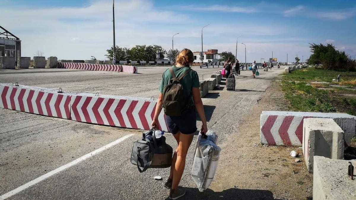 Кабмин разрешил выезд из оккупированного Крыма для вступления и учебы