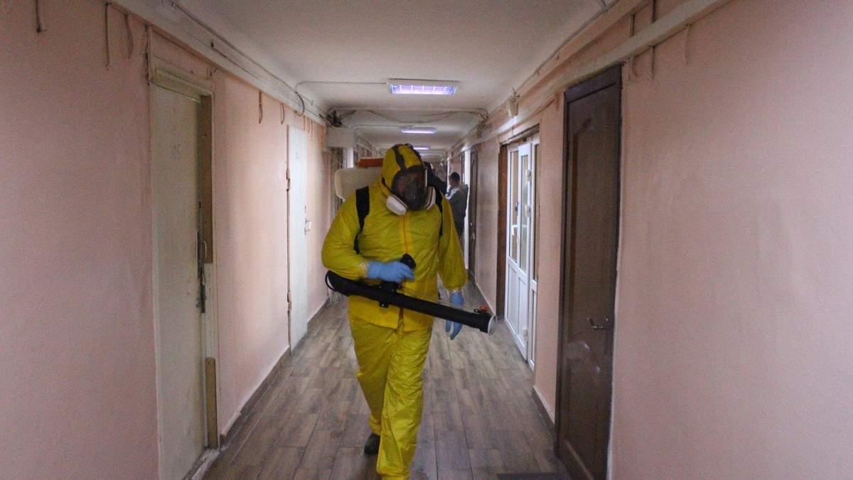 Карантин в общежитиях Украины / Иллюстративное фото