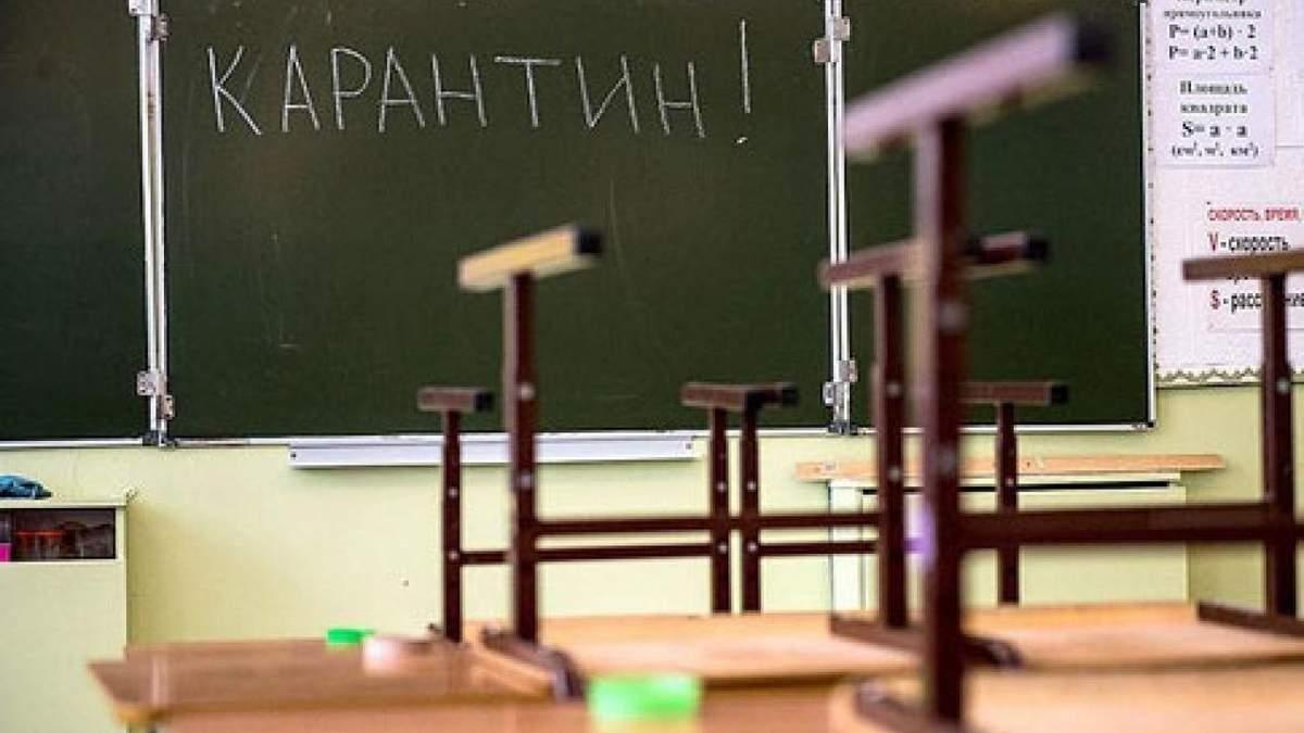 Які школи можуть не відкритися з 1 вересня: список червоної зони