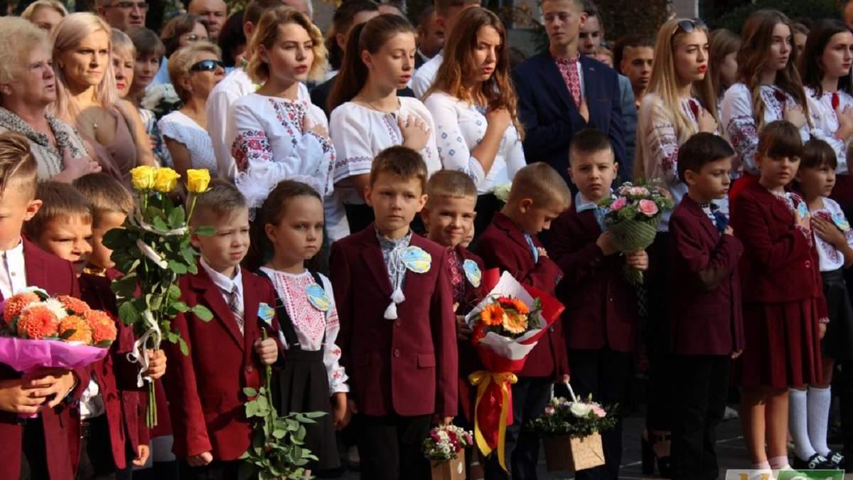 Первый звонок 1 сентября 2020 в Киеве: ограничения