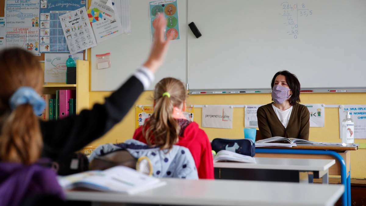 Каким должен быть первый урок в школе: материалы учителям о COVID-19