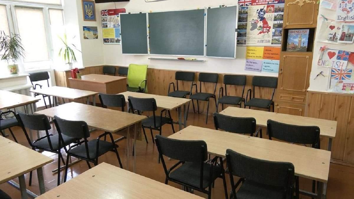 Навчання в школах у червоній зоні