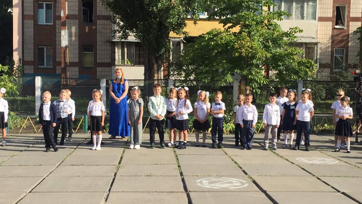 1 сентября 2020 в школах Украины: фото учеников с начала учебного года