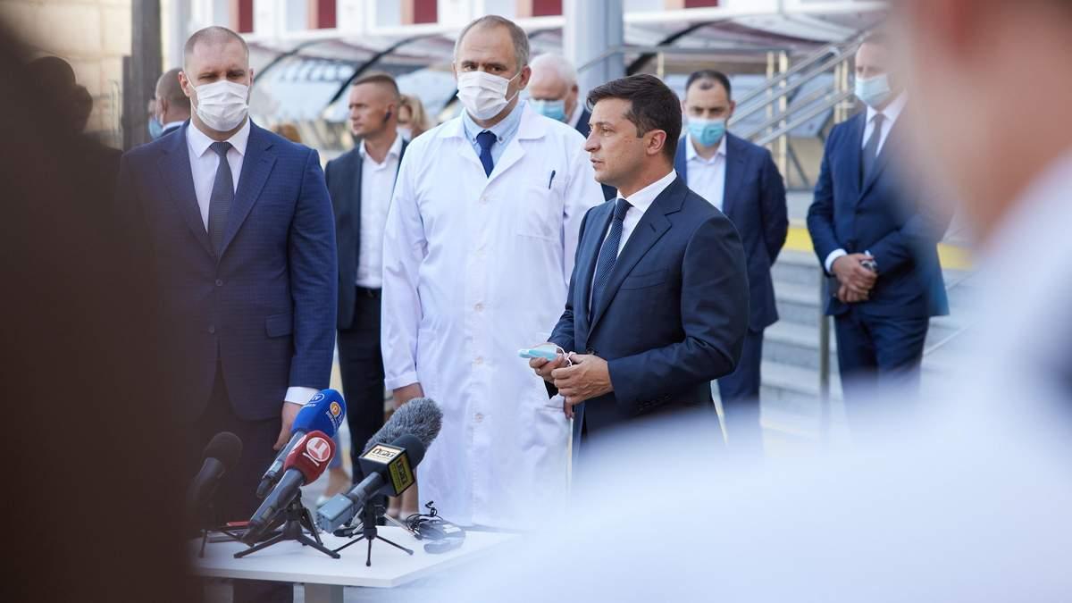 Зеленський вважає, що Україна готова до дистанційного навчання