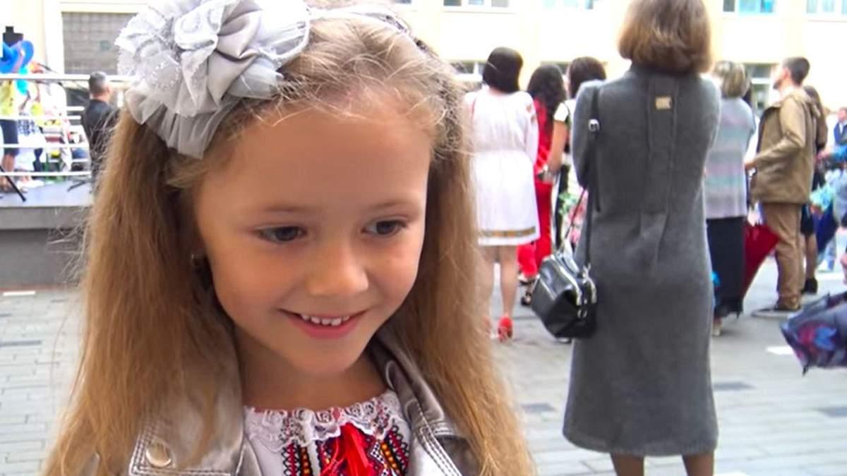 І потім помремо: висловлювання першокласниці Адель у Трускавці - відео