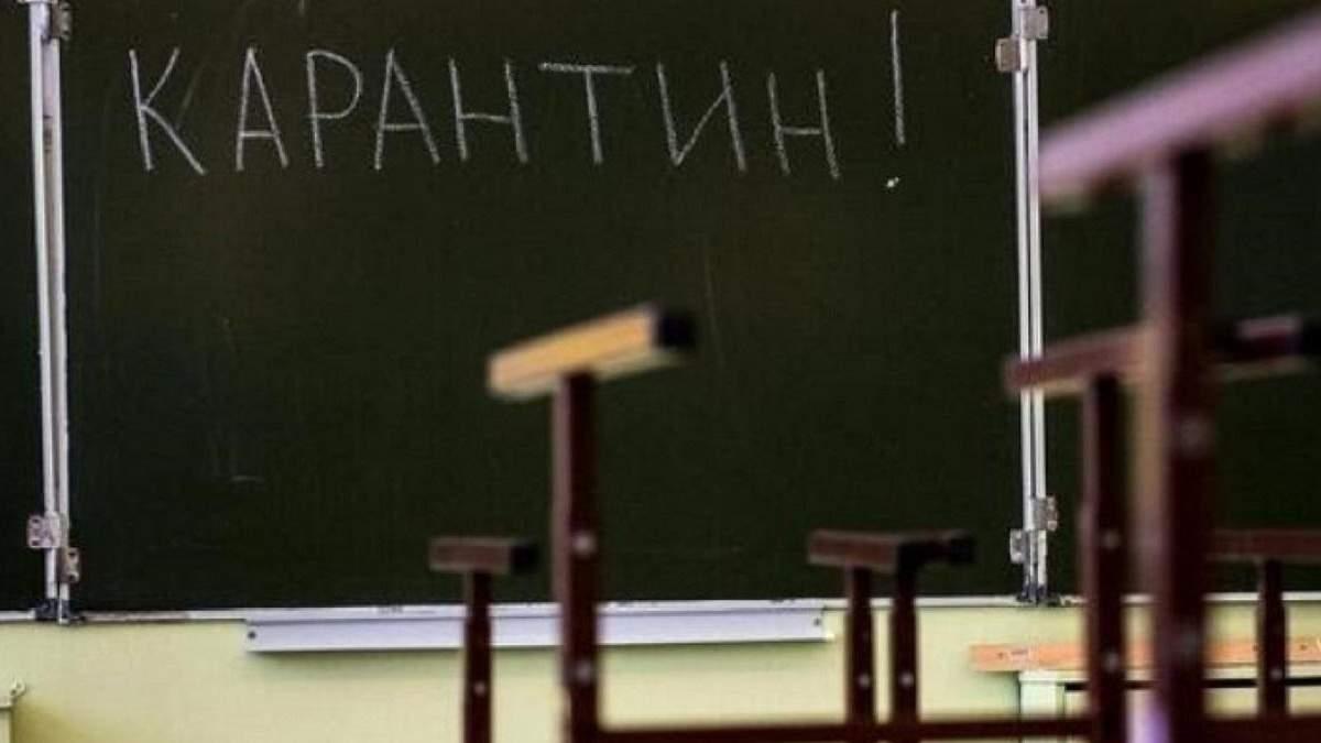 В школе в Винницкой области вспышка коронавируса: обучение будет дистанционным