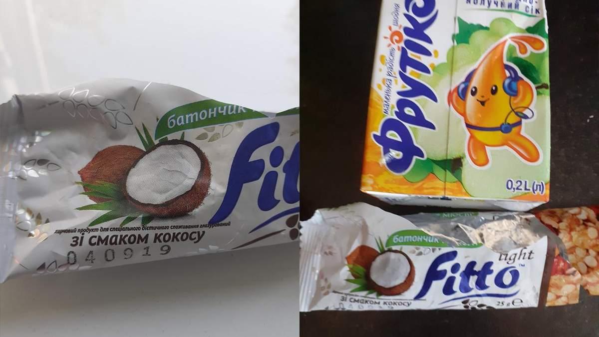 У школах Одеси учнів годують простроченими батончиками: деталі
