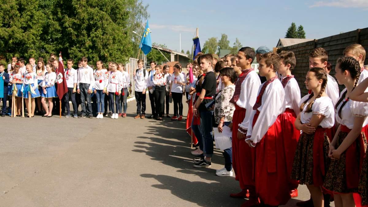 Школам доручили провести для дітей патріотичну гру Сокіл