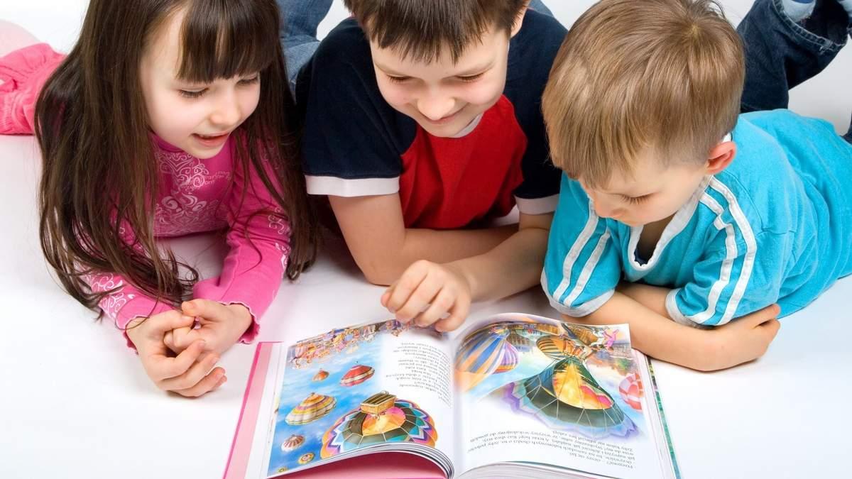 Забагато картинок у книгах заважає дітям зрозуміти прочитане, – вчені
