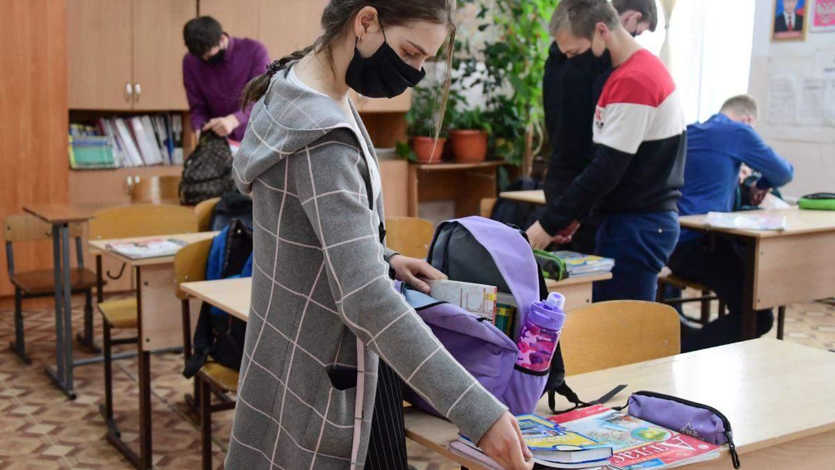 Сколько учеников и учителей в Черновцах заболели на COVID-19