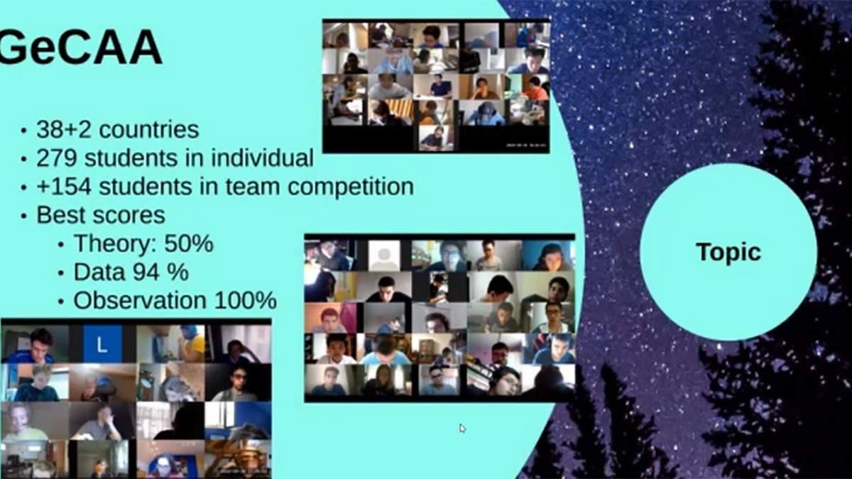 Украинцы заняли призовые места в конкурсе по астрономии и астрофизике