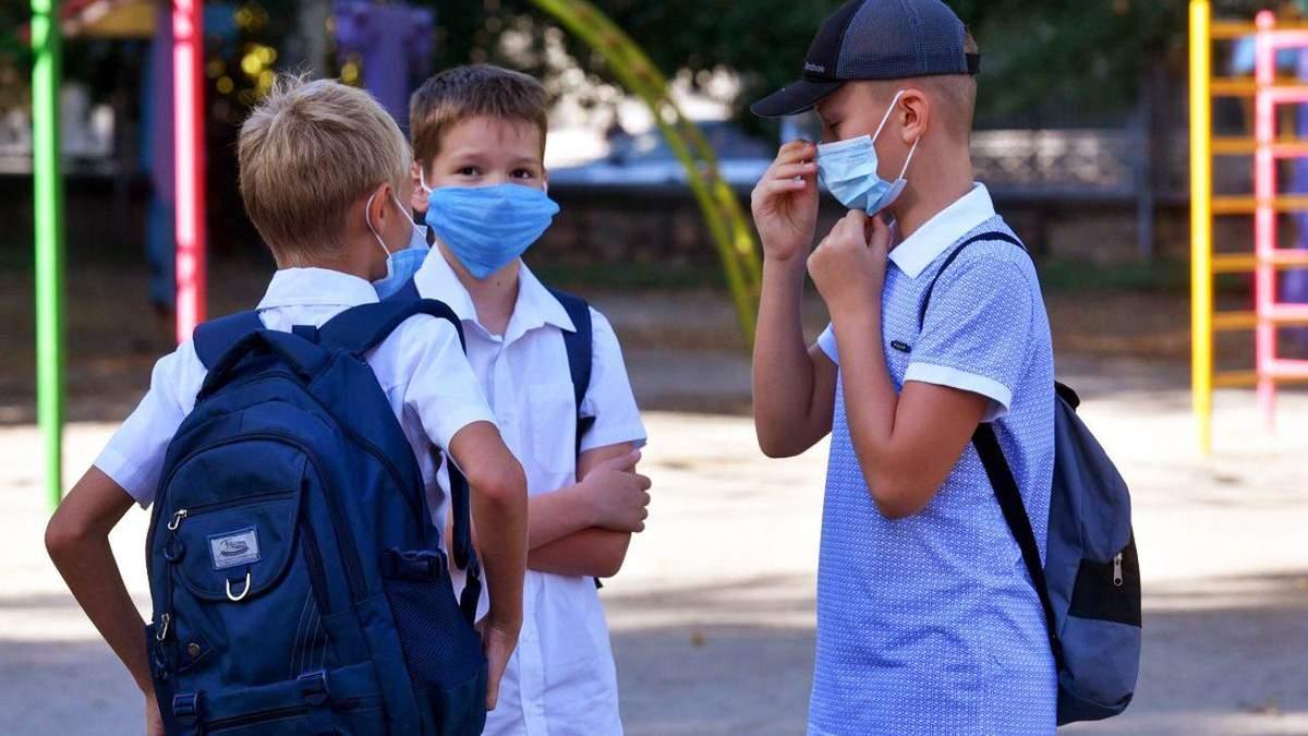 В Харькове ученики 5 – 11 классов вышли на учебу в красной зоне