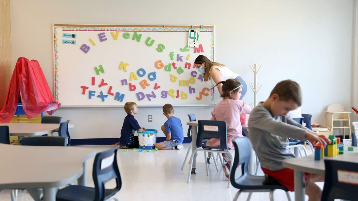 Как учатся ученики в первом классе в Канаде: интересные факты