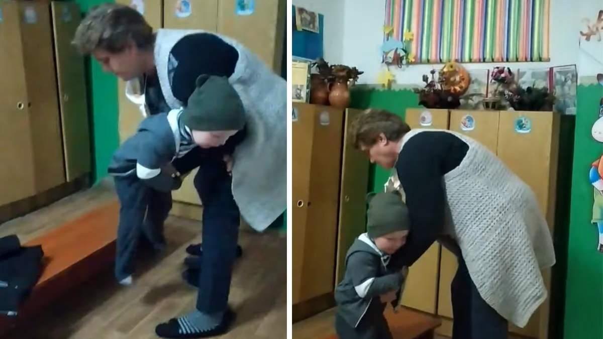 В садике на Полтавщине воспитательница избила ребенка: видео и детали