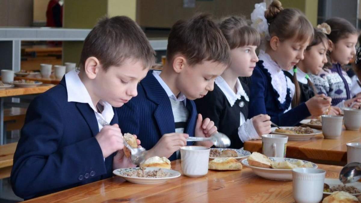 У  школах Дніпра по-різному годують дітей пільгових категорій та тих, за кого платять батьки