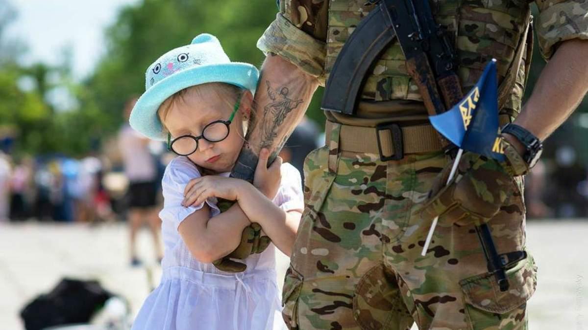 Дети погибших бойцов на Донбассе будут питаться бесплатно