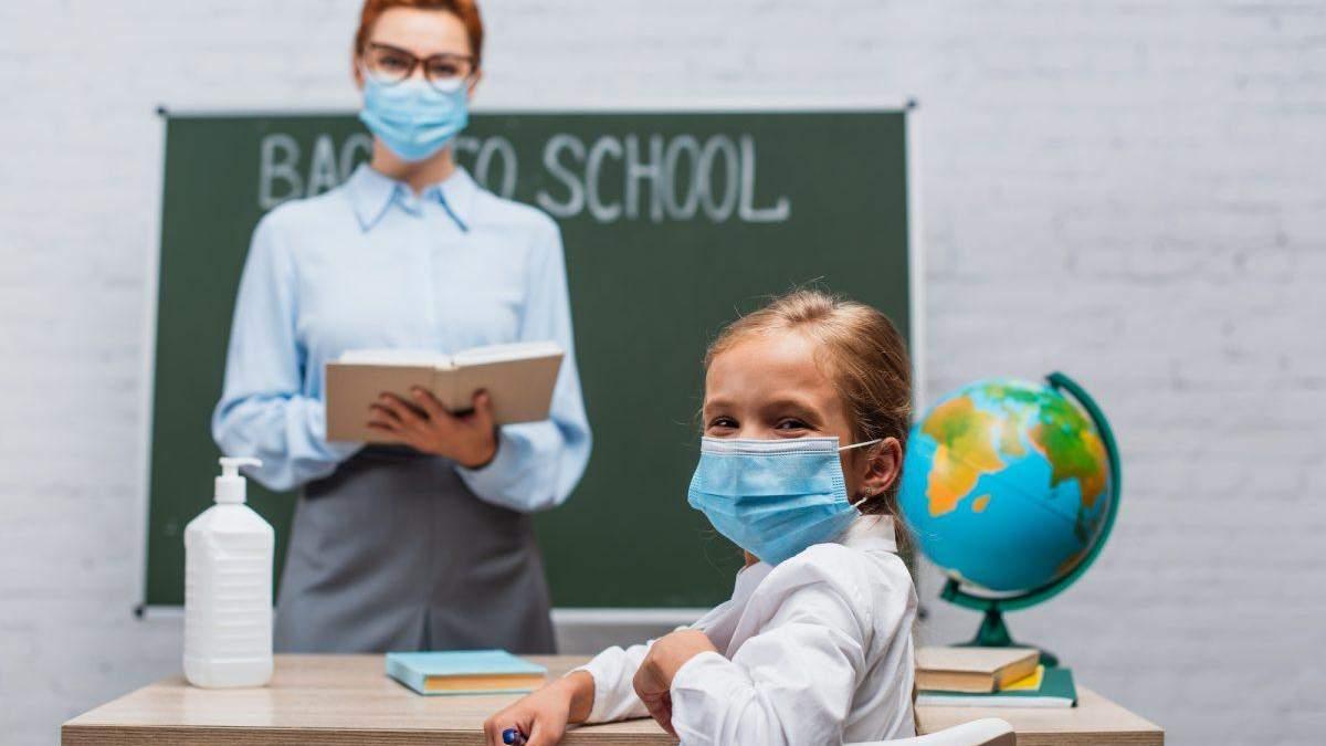 Коронавірус в учнів та вчителів: дані з областей України