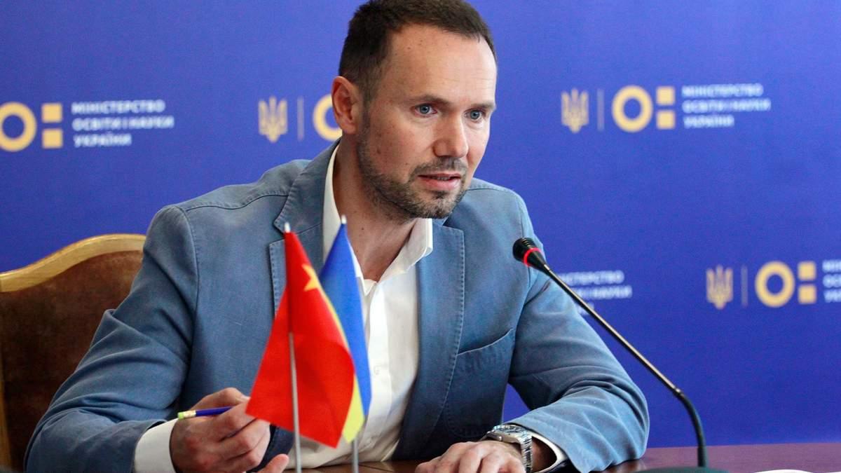 Шкарлет прокоментував своє призначення на посаду міністра освіти
