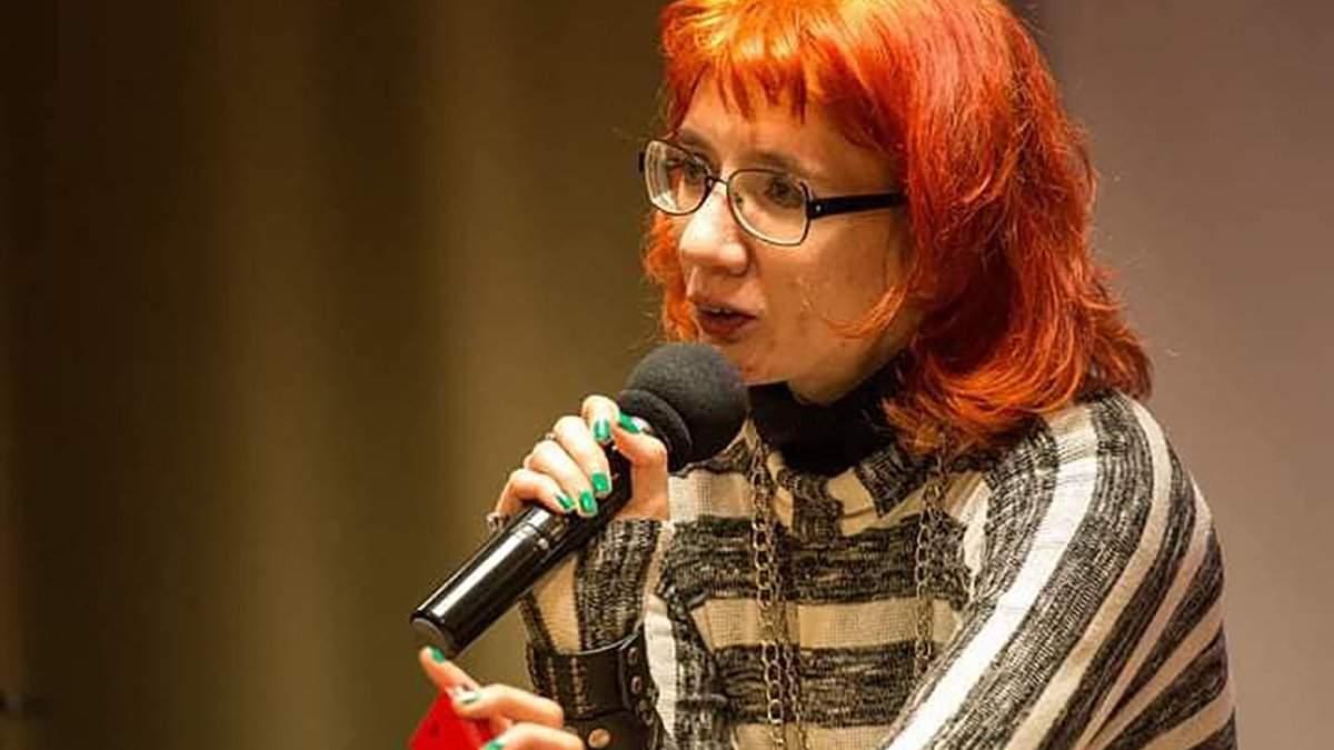 Преподавательницу Драгоманова Бильченко отстранили от занятий