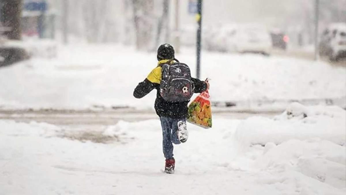 Как будут работать школы и садики во Львове в непогоду 12 февраля 2021
