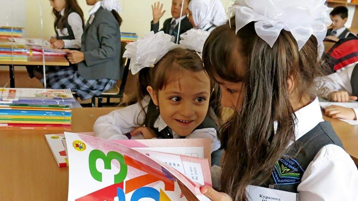 В Крыму за время аннексии в 50 раз уменьшилось количество учеников, которые учатся на украинском