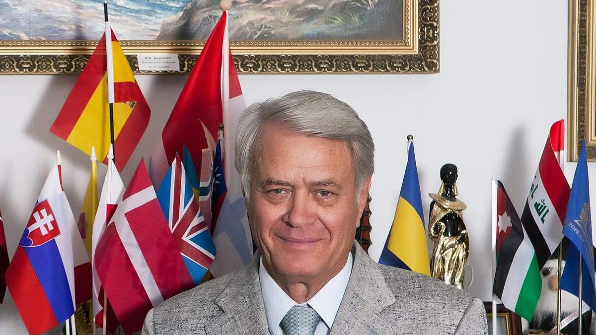 Помер ректор Європейського університету Іван Тимошенко