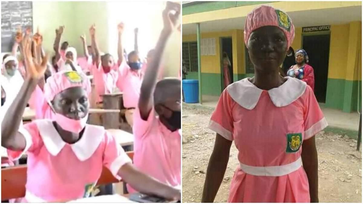 У Нігерії жінка у 50 років вперше пішла до школи: фото