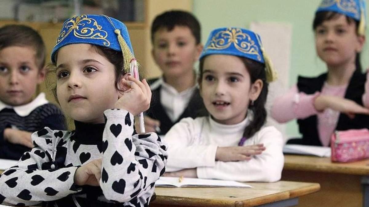 Кримських учнів змушують перейти на російську мову навчання