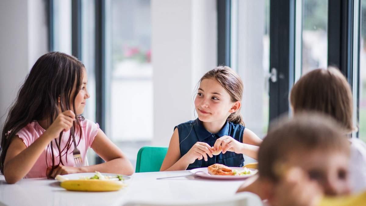Перший етап реформування шкільного харчування закінчено, – Зеленська