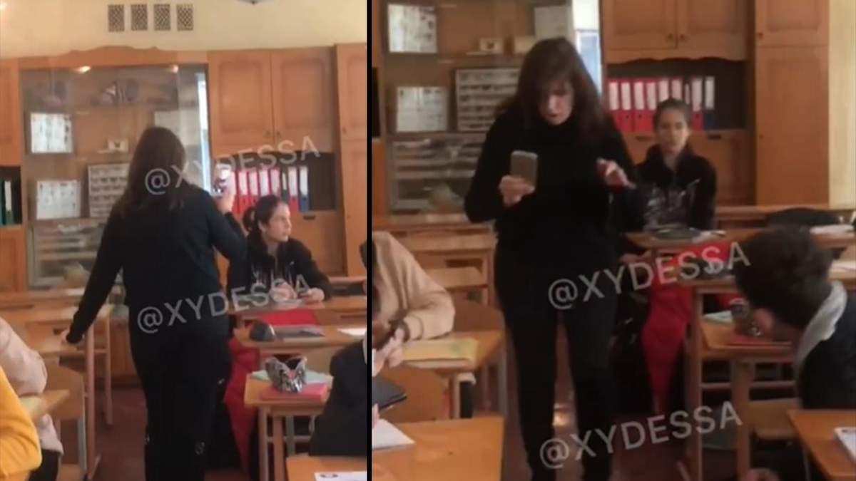 В Одессе ученик 8 класса распылил перцовым баллончиком в лицо учительнице