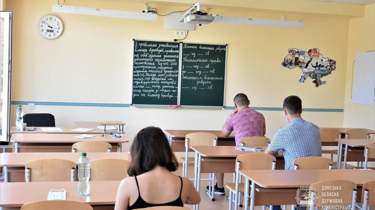 Ученики с оккупированных территорий для прохождения ВНО получат жилье