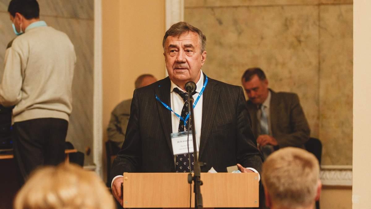 Я втомився, я йду – ректор ХНУ Каразіна Бакіров записав відеозвернення