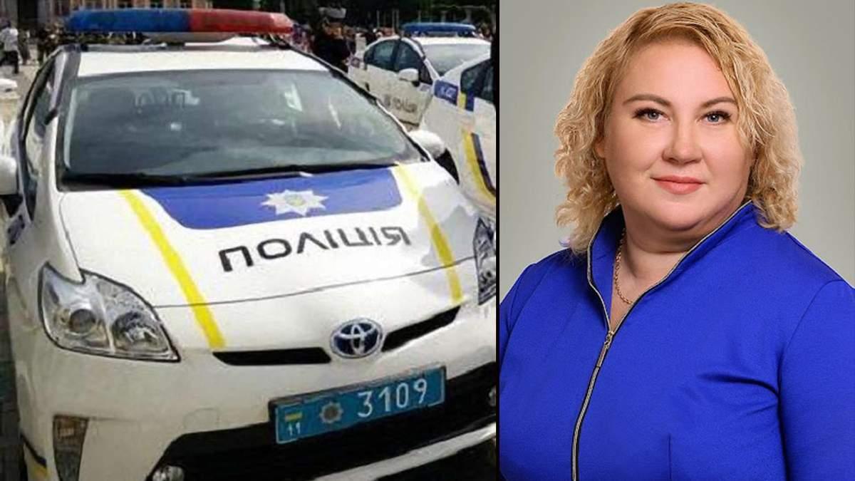 Пьяная директор гимназии устроила скандал с полицией в Запорожье