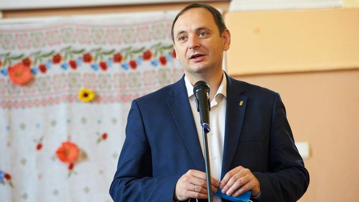 Марцінків пропонує видавати премії вчителям, які будуть вакцинуватися