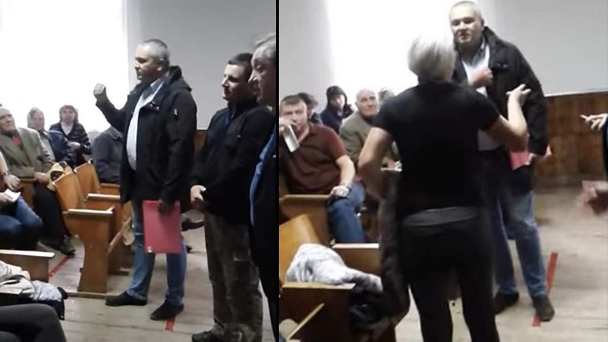 """Скандал на Буковине: директор лицея назвал женщину """"затычкой"""", а учеников сравнивал с товарами"""