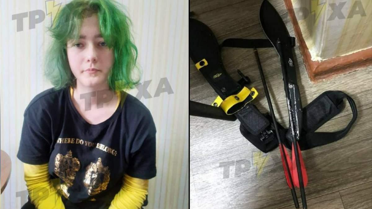 В мережі показали фото 19-річної дівчини, яка стріляла з арбалету у школі Полтави - Новини Полтави - Освіта